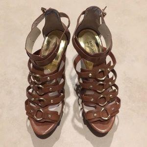 Authentic Michael Kors wedge sandals size 7.5M